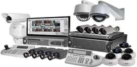 Camaras de vigilancia, alarmas, cercos eléctricos, suministros instalación y mantenimiento
