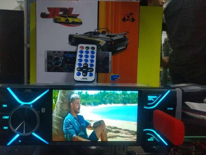 Radio para Carro con Pantalla Y Bluetoot 0