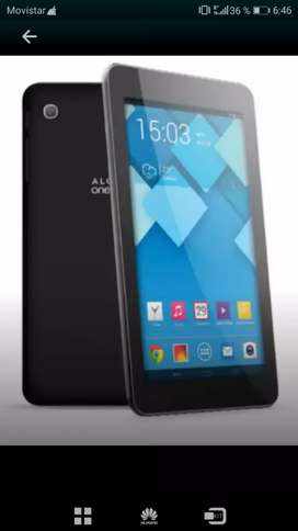 Tablet alcatel