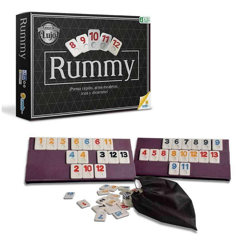 Rummy Q Ronda De Lujo Juego De Mesa 0