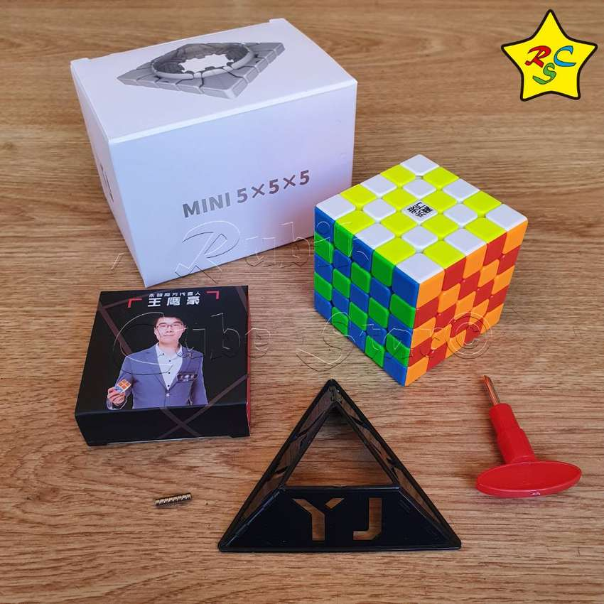Cubo Rubik 5x5 Zhilong Mini Magnetico Yuchuang Yj Sped 5,8cm 0