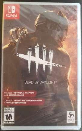 Dead by Daylight Switch nuevo y otros incluye envío oferta!