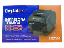 IMPRESORA TERMICA DIGITAL POS DIG-K200L USB
