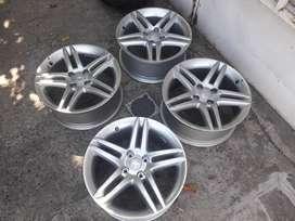 4 Llantas Peugeot Stromboli 17 sin Uso
