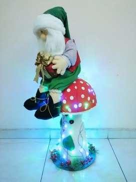 Muñeco Papá Noel - Hongo