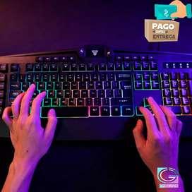 Vendo teclado para juego fantech k 513 booster .domicilio gratis