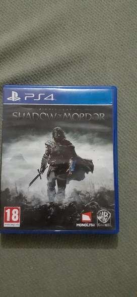 Vendo Shadow Of Mordor de Ps4