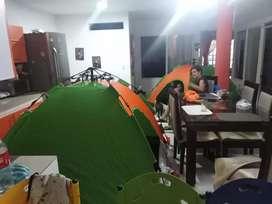 Carpa automatica para camping 4 personas (automatica)
