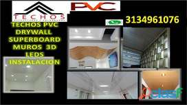 PVC TECHOS INSTALACION