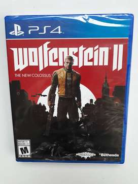 Wolfenstein 2 Juego Ps4 Nuevo Sellado En Español