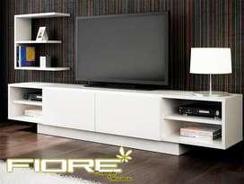 Mueble Televisor mas repisa