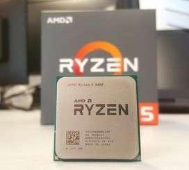 VENDO PROCESADOR RYZEN 5 2600 (6 NUCLEOS, 12 HILOS) Y RAM DDR4 8GB
