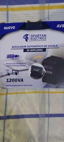 Regulador de voltage y cargador de celulares