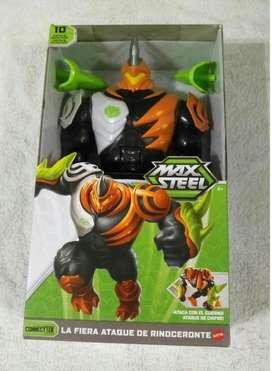 Max Steel La Fiera Ataque de Rinoceronte nuevo sellado fabrica