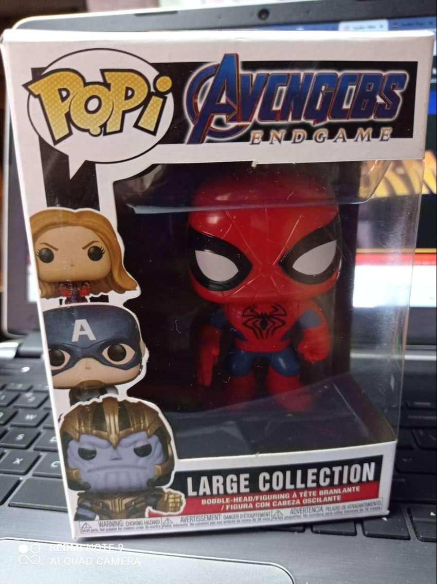 Muñeco pop de spiderman