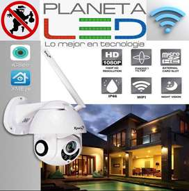 Camara Ip Robotica 1080p Exterior Wifi 360 Hd Android iPhone