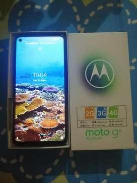 Vendo hermoso celular moto g8 power de 64 gb con caja factura