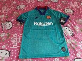 Camiseta Barcelona talla M/ 8años niño