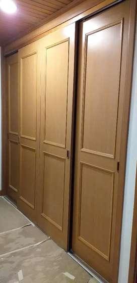 Puertas de Closet 3 Usadas