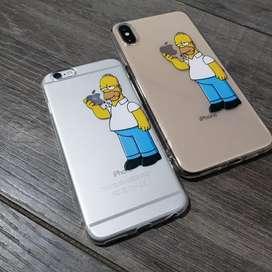 Forros Estuche Protectores iPhone Homero