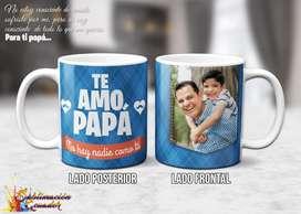 Tazas Personalizadas / Jarros Sublimados Dia del Padre