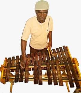 marimba de chonta cromática de dos octavas