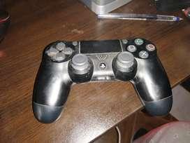 Mando PS4 con funda verde
