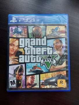 Grand The Auto 5 (Gta V) Ps4