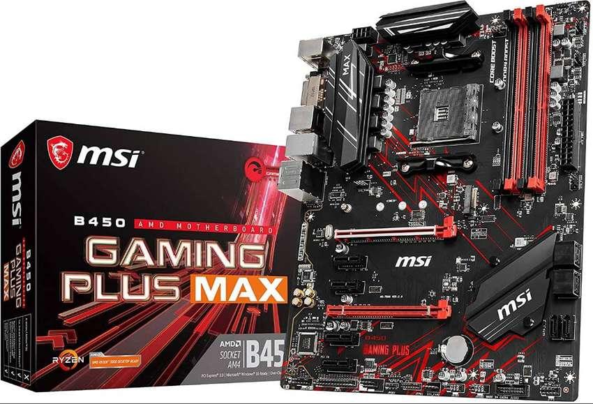 Board MSI B450 Gaming Plus Max para AMD