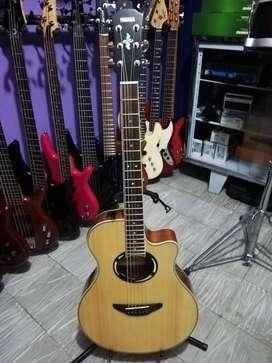 Guitarra Electroacustica Yamaha Apx500iii Natural Como Nueva