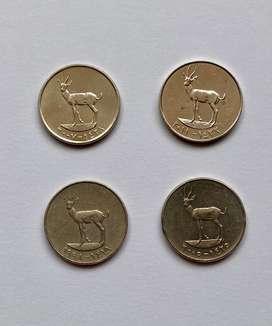 Emiratos Arabes Unidos monedas