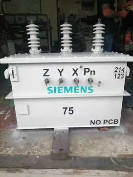 Vendo transformador Siemens 75 KVA