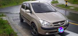 Vendo hyundai getz 2009 recibo vehículo de menor valor