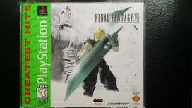 Final Fantasy 7 original (FF VII)