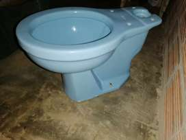 Se vende sanitario color azul