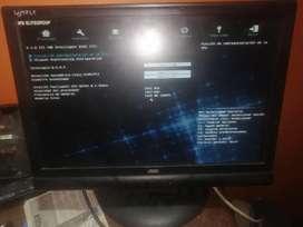 Vendo monitor de 17 pulgadas lcd barato