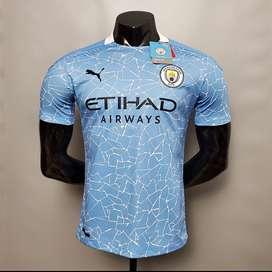 Camiseta local del Manchester city 20/21 Versión jugador