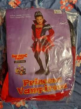Se vende disfraz de princesa vampira talla 12