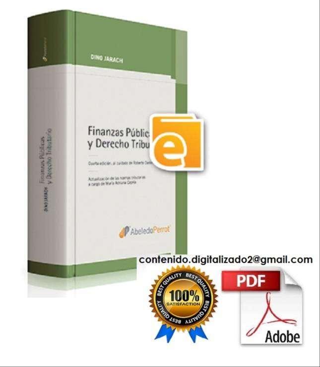 FINANZAS PUBLICAS Y DERECHO TRIBUTARIO 4 ed - DINO JARACH - ABELEDOPERROT 0