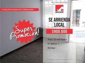 Se Arrienda Local Comercial Centro - Camol