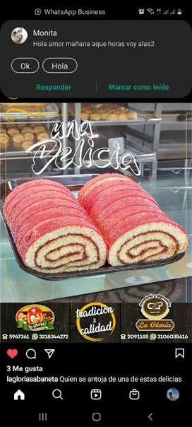 Los  deliciosos rollos tradicionales
