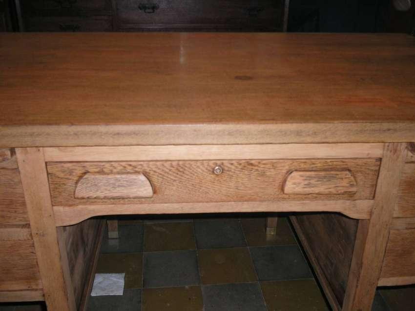 Antiguo y Hermoso escritorio mesa Thompson,Completo 0