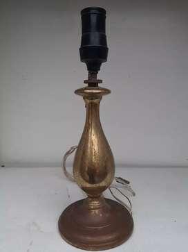 Hp lámpara vintage de bronce