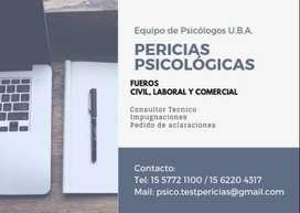 PERICIAS PSICOLOGICAS
