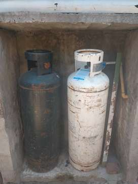 Vendo tubos de GAS YPF 45 kg