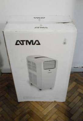 Aire acondicionado frio/calor portátil ATMA nuevo!