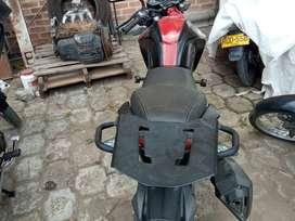 Parrilla para moto cr5