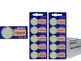 Sony Pila Cr2016 Litio 3v Usd 1 X 1u