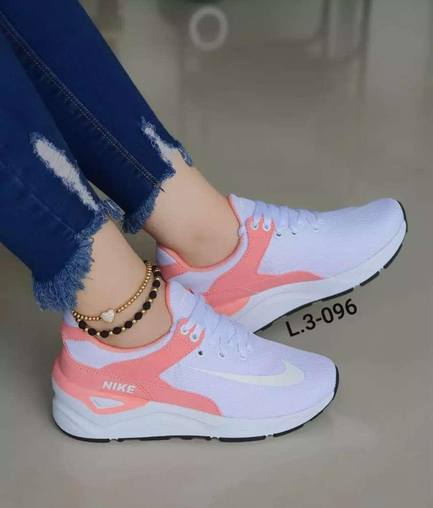 Zapato Tennis Deportivo Nike Para Mujer 0