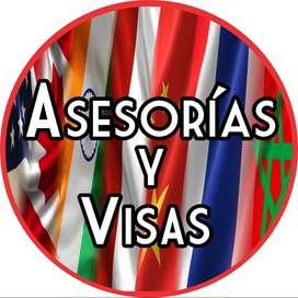 ASESORIAS Y VISAS